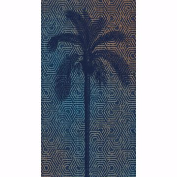 Picture of Palm Tree Silhouette Wall Mural