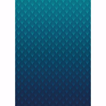 Picture of Electric Blue Wall Mural