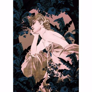 Picture of Pink Statuesque Wall Mural