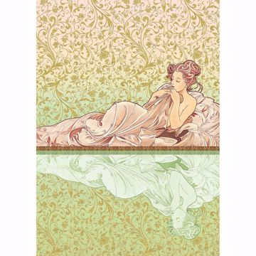 Picture of Basking Woman Wall Mural