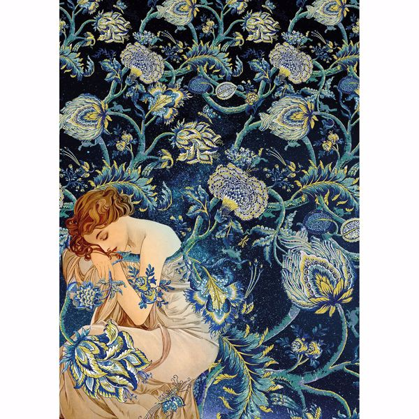 Picture of Femme d'Or Wall Mural