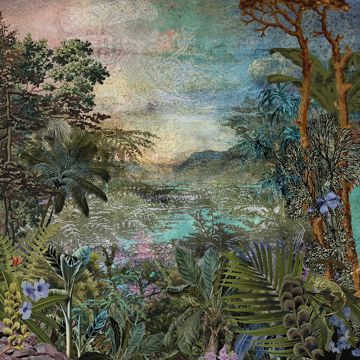 Picture of Vintage Jungle Wall Mural