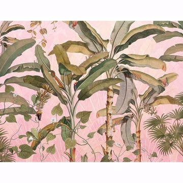 Picture of Banana Leaves Wall Mural