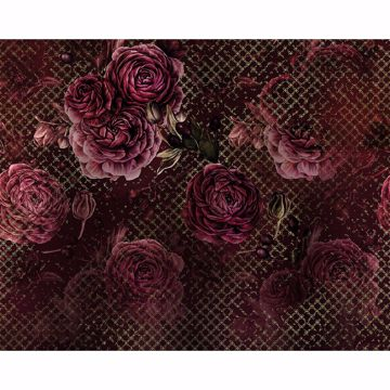 Picture of Romantic Florals Wall Mural