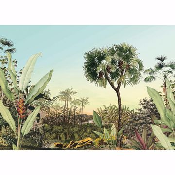 Picture of Tropical Oasis Wall Mural