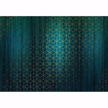 Picture of Green Mystique Wall Mural
