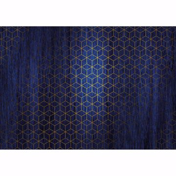 Picture of Blue Mystique Wall Mural