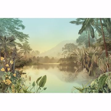 Picture of Tropical Lake Wall Mural