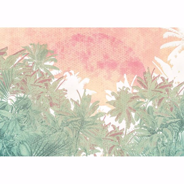 Picture of Pop Palms Wall Mural