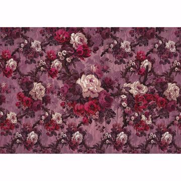 Picture of Mauve Florals Wall Mural