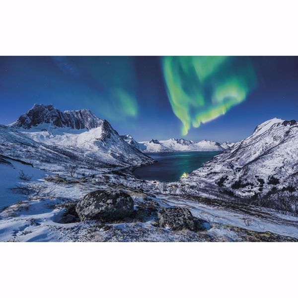 Picture of Norway lights Wall Mural