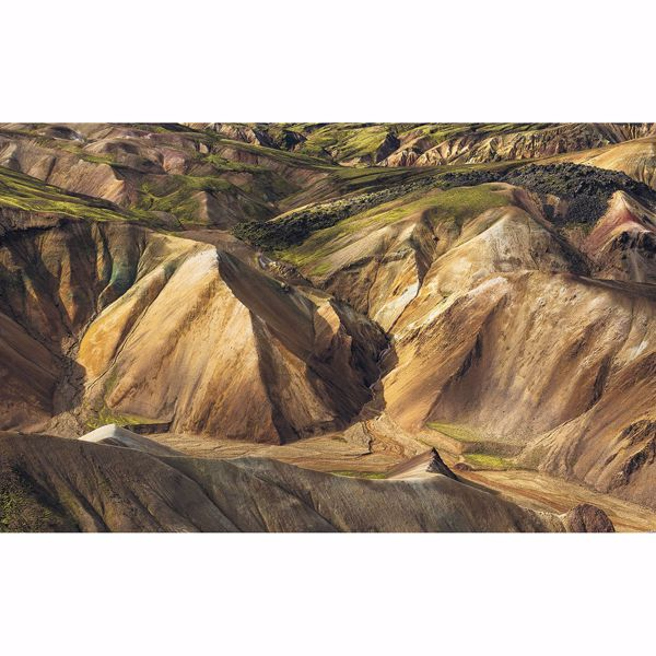 Picture of Shiny Mountains Wall Mural