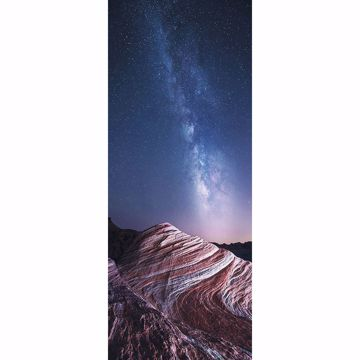 Picture of Fire Wave Mountain Wall Mural