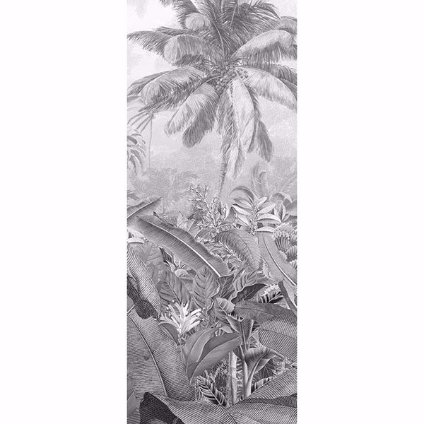 Picture of Amazonia Black and White Wall Mural