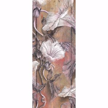 Picture of Blooming Plank Wall Mural
