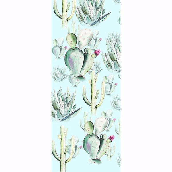 Picture of Cactus Blue Wall Mural