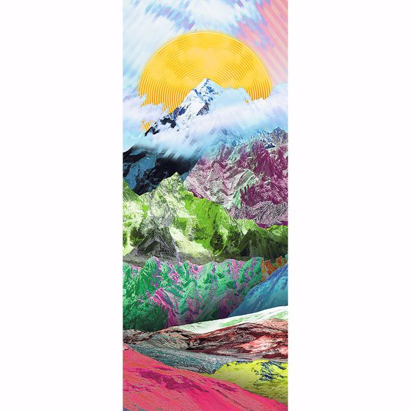 Picture of Colorful Mountain Top Wall Mural