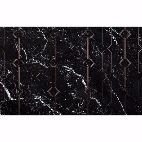 Picture of Marble Black Wall Mural