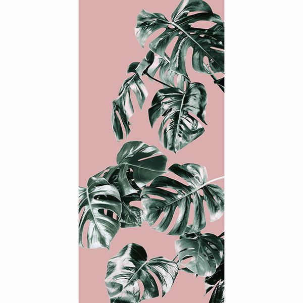 Picture of Monstera Rose Wall Mural