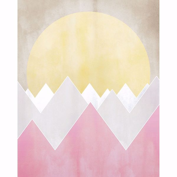 Picture of Sunrise Mountain Wall Mural