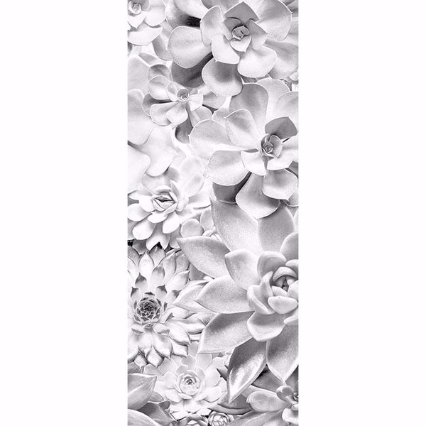 Picture of White Floral Wall Mural