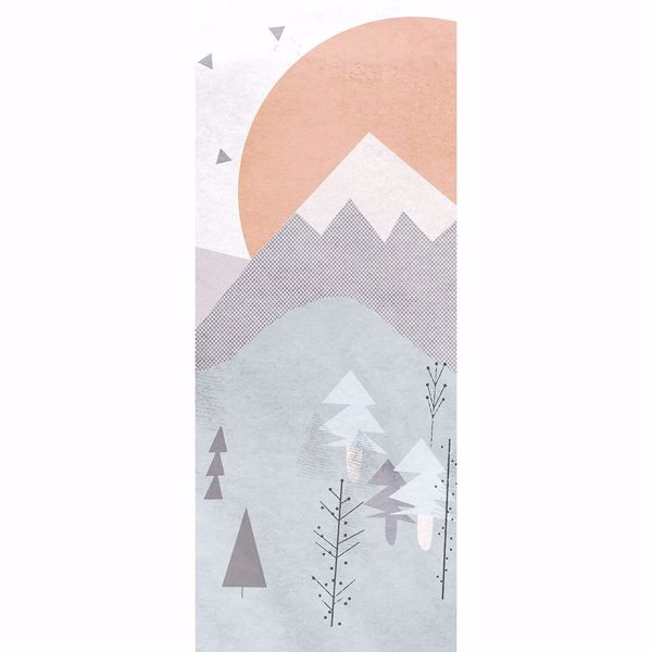 Picture of Wild and Free Mountain Wall Mural