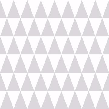 Picture of Verdon Light Grey Geometric Wallpaper