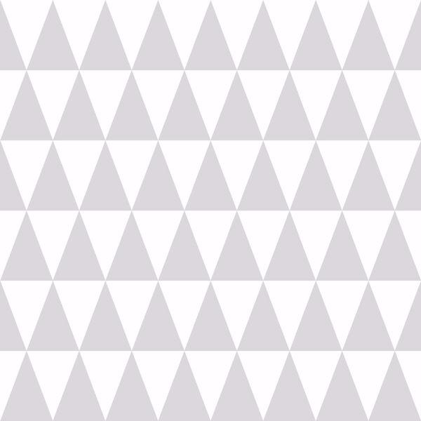 Picture of Verdon Light Grey Geometric Wallpaper