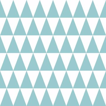 Picture of Verdon Aquamarine Geometric Wallpaper