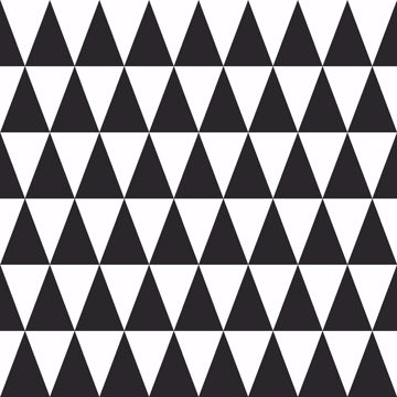 Picture of Verdon Black Geometric Wallpaper