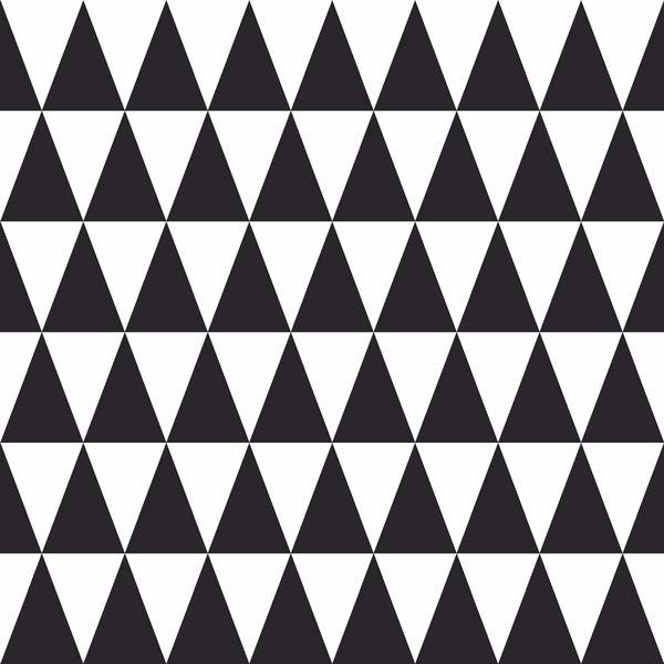 Picture of Verdon Black Geometric Wallpaper