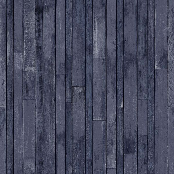 Picture of Azelma Navy Wood Wallpaper