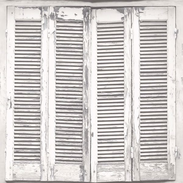 Picture of Lansbury Off-White Distressed Shutter Wallpaper