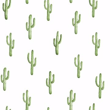 Picture of Peron Green Cactus Wallpaper