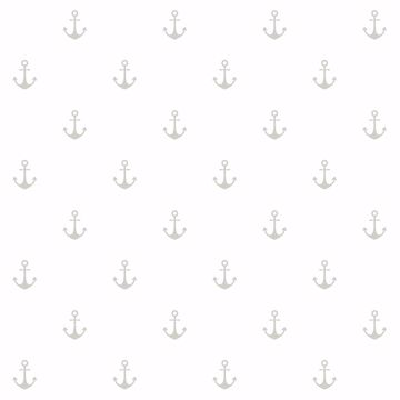 Picture of Morton Grey Anchors Wallpaper