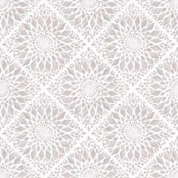 Picture of Maureen Cream Medallion Wallpaper