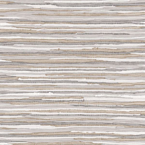 Picture of Cabana Brown Faux Grasscloth Wallpaper