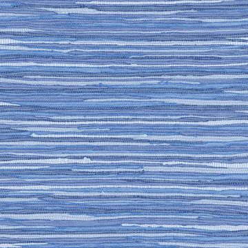 Picture of Cabana Blue Faux Grasscloth Wallpaper