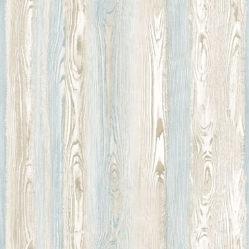 Picture of Cady Beige Wood Panel Wallpaper