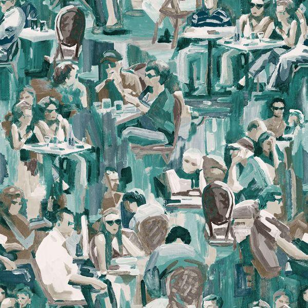 Picture of Wunderkammer Jade Café Wallpaper