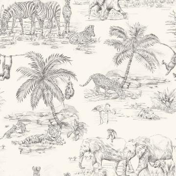Picture of Javert Cream Safari Wallpaper