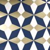 Picture of Newby Navy Geometric Wallpaper