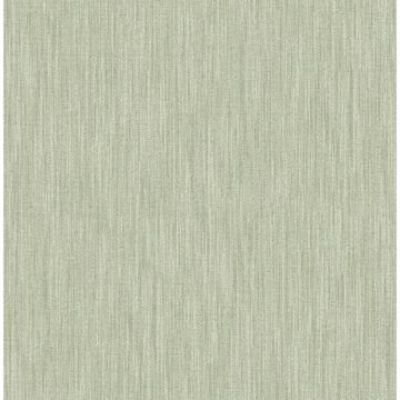 Picture of Chiniile Sage Faux Linen Wallpaper