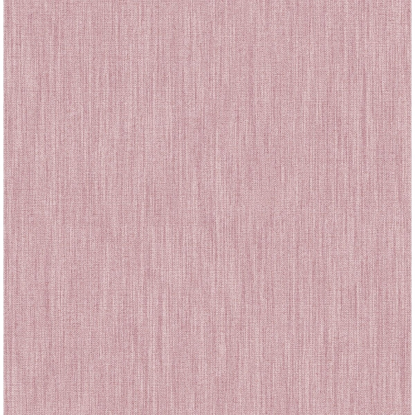 Picture of Chiniile Pink Faux Linen Wallpaper