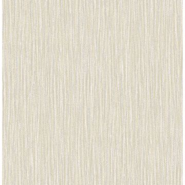 Picture of Raffia Light Yellow Faux Grasscloth Wallpaper