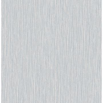 Picture of Raffia Light Blue Faux Grasscloth Wallpaper