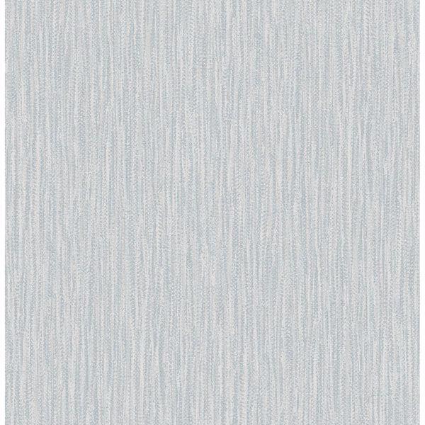 Picture of Raffia Light Blue Faux Grasscloth Wallpaper