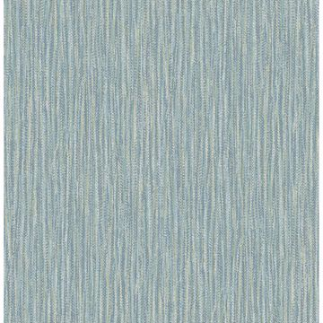 Picture of Raffia Aqua Faux Grasscloth Wallpaper