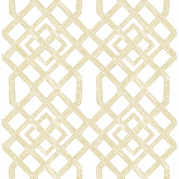 Picture of Traverse Beige Trellis Wallpaper