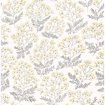 Picture of Floret Yellow Floral Wallpaper